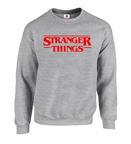 Graphic Impact Inspired Stranger Funny things Sci-Fi Horror Season 2 Logo Sweatshirt