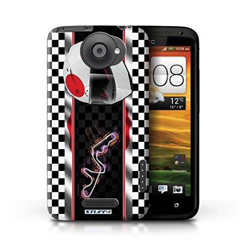 Kobalt® Imprimé Etui / Coque pour HTC One X / Espagne/Catalogne conception / Série F1 Piste Drapeau Japon/Suzuka