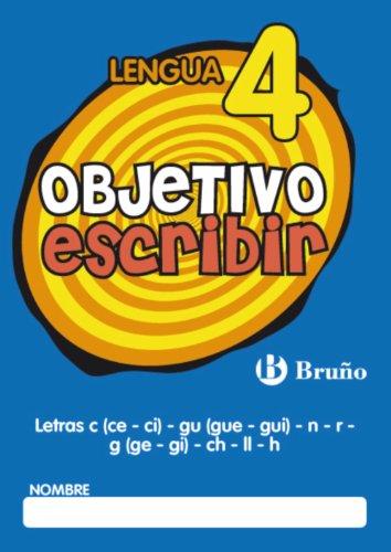 Objetivo escribir 4 (Castellano - Material Complementario - Objetivo Ortografía) - 9788421665053