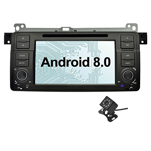 Ohok 7 Pulgadas 1 DIN Autoradio Android 8.0.0 Oreo Octa Core 4GB...
