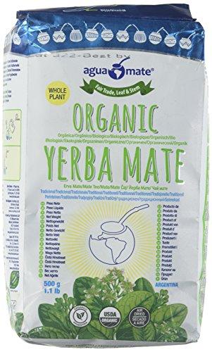 Aguamate Organic - Mate Tee aus Argentinien 500g (ungeräuchert) -