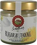 Bio Honig, deutscher Frühjahrsblütenhonig, beste Qualität aus Deutschland, feincremig, hell gelb, mild fruchtig, 250g, Schellartz Bio