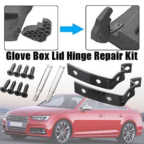 ZqiroLt Z-förmige Halterung, Reparatursatz, Scharnier am Handschuhfachdeckel, eingerastet für Audi A4 S4 RS4 B6 B7 8E (Audi S4 Spielzeug Auto)