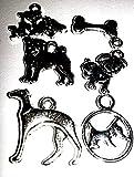 Unbekannt Edeler Anhänger Hundemotiv aus tibet. Silber