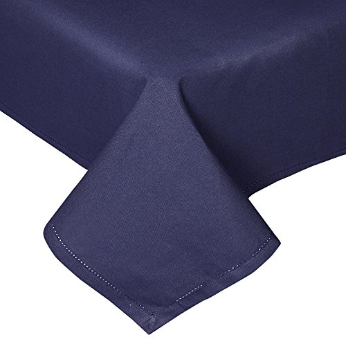 homescapes-tablecloth-54-x-54-inch-navy-blue-100-cotton-hand-woven-decortive-edge-easy-care-washable