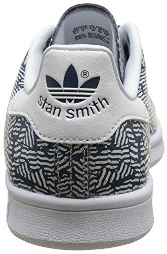 adidas Stan Smith, Baskets Basses Femme Bleu (Collegiate Navy/Collegiate Navy/Footwear White)