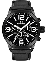 TW Steel Marc Coblen Edition Chrono mit Lederband 42 MM Black/Black TWMC19