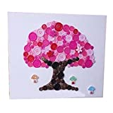 Tree Pattern Style Puzzle / Bouton Peinture / Parent-enfant Divertissement