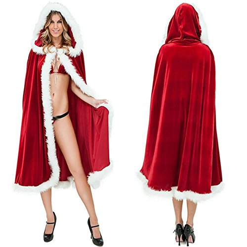 FENGHAO Liitle Fräulein Santa Santa Kostüme | Volles Sortiment verfügbar | Traditionelle & Dumm | Herren Damen Fancy Dress Outfits Ladies Budget Frau Santa Claus Weihnachten Kostüm Nativity Panto (Dress Sterne Kostüme Herr Set Up)