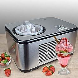 Automatique Acier Inoxydable Machine à Glace avec Compresseur de yaourt glacé Shake Machine à lait de Rafraichisseur de bouteille Gino Gelati IC dcb3270W