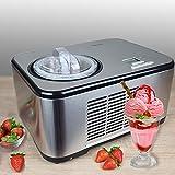 Vollautomatische Edelstahl Eismaschine mit Kompressor-Frozen Yogurt-Milchshake Maschine-Flaschenkühler Gino Gelati IC-270W