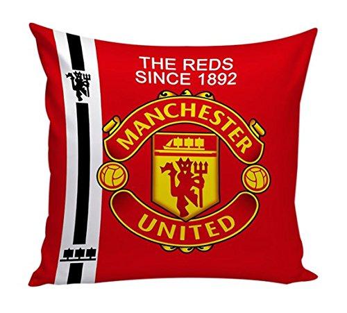 Dream Weaverz 3D Printed Velvet Cushion Covers for Football Lovers - Cushions...