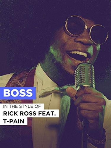 Boss im Stil von