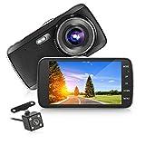 Panlelo D5 Full HD Car Dash Cam Dashboard Camera G Sensor Dash Camera Night Vision Car Dashboard Camera Recorder WDR Audio Loop Recording
