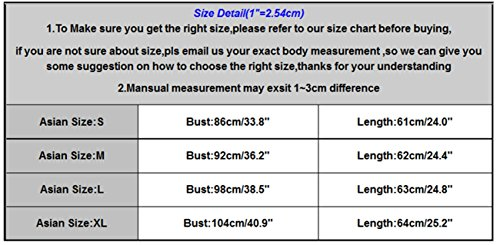 LHWY Damen Printed Tank Tops Casual Bluse t-shirt Vest Multicolor