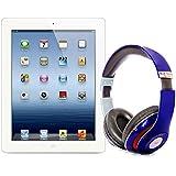 Pack iPad 3 16Go Wifi 4G Blanc avec casque Bluetooth Bleu