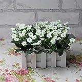 Life Up® 16cm Maceta de Lavanda + Artificial Flores de Lavanda Florero planta plantador, Decoración Iniciar / interior / exterior / de la boda / Jardín