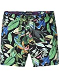 Scotch & Soda Herren Shorts Elasticated Swimshort with Colourful All-Over Print, Mehrfarbig (Combo A 0217),Large