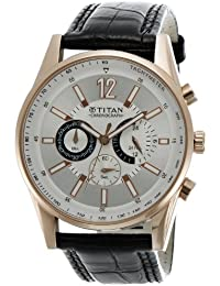 Titan Octane Chronograph Multi-Color Dial Men's Watch -NK9322WL01