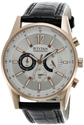 Titan Octane Chronograph Analog Multi-color Dial Men's Watch - NC9322WL01A