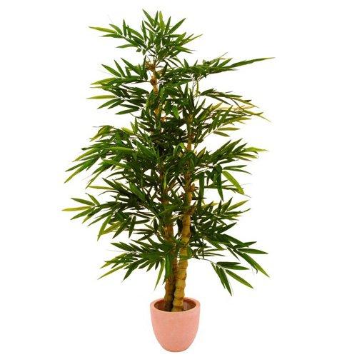 Props4shows Europalms Arbre en Bambou 150 cm avec Tronc Naturel, Vert