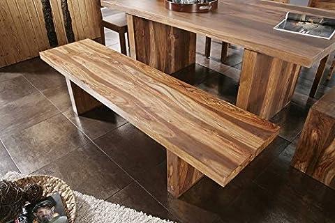 Palissandre laqué massivmöbel banc 200 x 45 cm-matériaux : bois massif de noyer duke#108