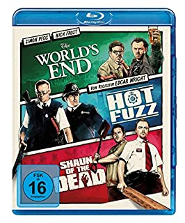 Cornetto Trilogie: The World's End / Hot Fuzz / Shaun of the Dead (3 on 1) [Blu-ray]