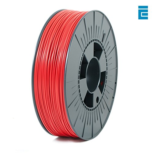 ICE Filaments ICEFIL1ABS087 ABS filament, 1.75mm, 0.75 kg, Daring Darkred