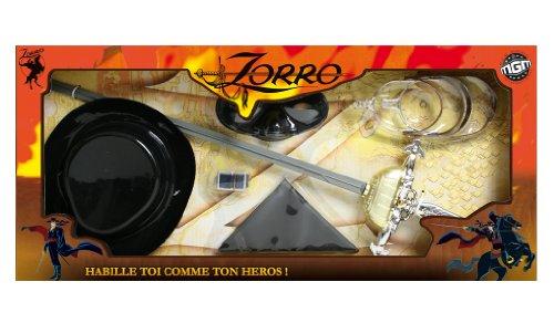mgm-180100-accessori-di-travestimento-da-zorro-con-spada-maschera-foulard-e-speroni-57-cm