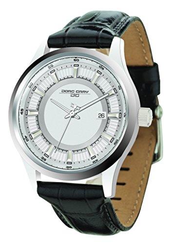 Jorg Gray JG6800-11 - Reloj de pulsera hombre, piel, color negro