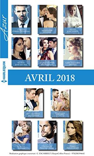 11 romans Azur + 1 gratuit (n° 3938 à 3948 - Avril 2018) (French ...
