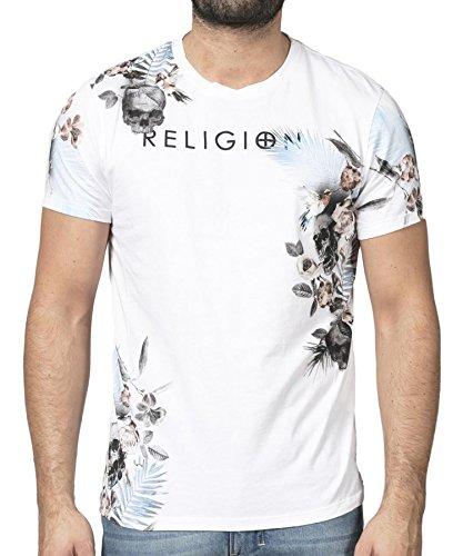 Religion Clothing Herren T-Shirt Shirt Botanical Weiß