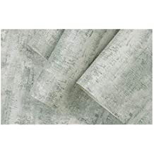 XHHWZB 3D Beton Zement Look Wallpaper Texturierte Schiefer grau Wallpaper für Wohnzimmer Möbel, Rolle 20,8 Zoll x 32,8 Fuß, 1 Roll Pack (Farbe : Style D)