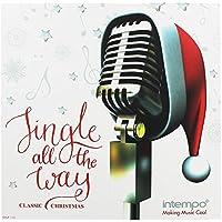 Álbum colección de los clásicos de Navidad ''Jingle All The Time'' de Intempo EE1497STK , discos LP de vinilo