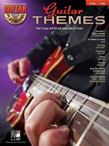 Guitar Themes: Guitar Play-Along Volume 136 (Hal Leonard Guitar Play-Along)