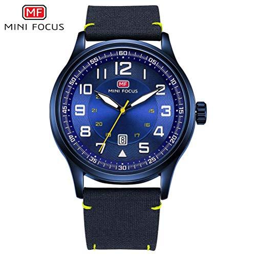 xisnhis schöne Uhren Mini - fokus / mf0166g große dial wörtliche männer auf leinwand auf Quarz
