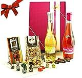 """Geschenke für Frauen - Der Geschenkkorb """"Käfer Hugo MIX"""" überzeugt als beste Freundin Geschenk mit 5 Spezialitäten und ist als Frauen Geschenk oder Geburtstagsgeschenk für Frauen zur Party ideal geeignet"""