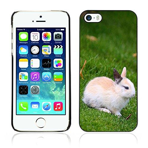 Graphic4You Niedlich Niedlich Kaninchen Hase Tier Design Harte Hülle Case Tasche Schutzhülle für Apple iPhone 5 und 5S Design #2