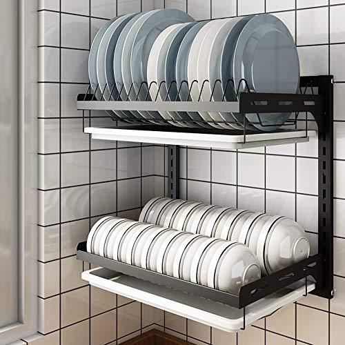 WYX Küchengeschirrtrockner, Trockengeschirr-Organisator-Speicher-Regal, Küchen-Versorgungsmaterial-Regal