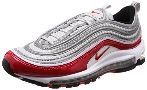 Nike - Air Max 97-921826009 - Farbe: Rot-Grau - Größe: 42.0