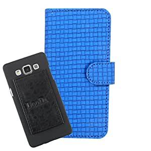DooDa PU Leather Wallet Flip Case Cover With Card & ID Slots For HTC Desire 501 / 501 Dual Sim
