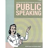Public Speaking Custom Edition for Pepperdine University