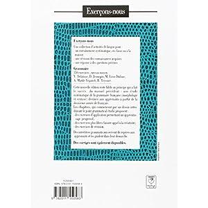 Grammaire 350 Exercices Niveau Moyen Telecharger Livres
