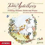 Frühling, Sommer, Herbst und Winter: Ein schönes Jahr im Heckenrosenweg (Tilda Apfelkern)