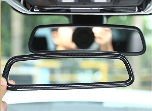 Auto ABS Chrom Innen Zubehör Rückspiegel Verkleidung Aufkleber für 34Serie X3X 5X6F15F16F25F30F31F34F32F33F36F70 - F70 Band