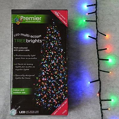 1000 Multi-coloured Premier Treebright Christmas Lights