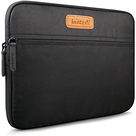 Inateck Apple iPad Air 2 Funda Sleeve iPad Air 10 Pulgadas Bolso para Tableta Samsung Galaxy Tab 4 10.1 Caso, Negro