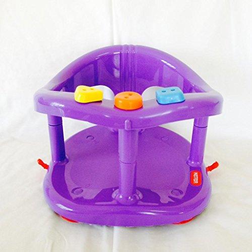 Preisvergleich Produktbild New Keter Baby Bad Ring Infant Sitz für Badewanne rutschfeste Sicherheit Stuhl violett