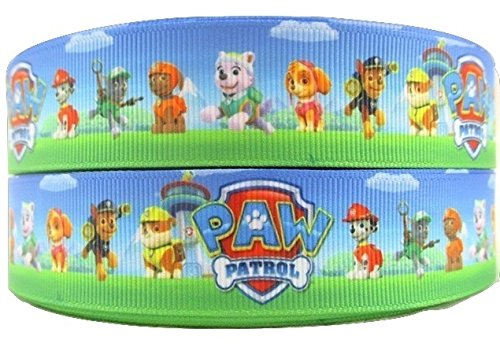 Personaggi Cane Nick Jr Paw Patrol 1metro nastro in cartone 1'25mm