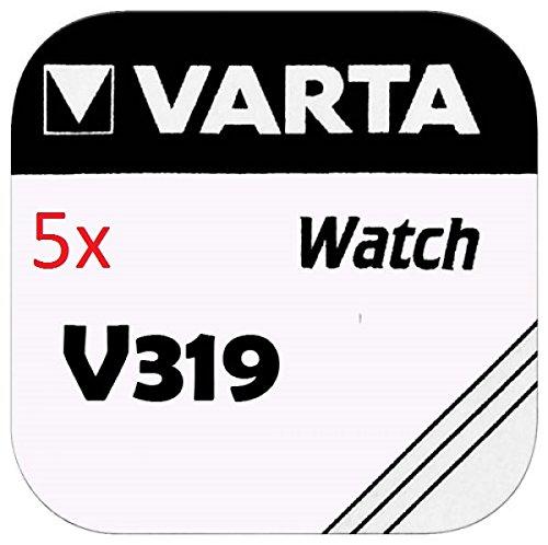VARTA KNOPFZELLEN 319 SR527SW (5 Stück, V319) - Uhrenbatterie 319